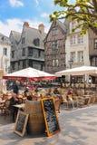 Place Plumereau. Tours. France Stock Images