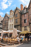 Place Plumereau. Tours. France Stock Photo