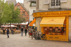 Place Plumereau. Tours. France Royalty Free Stock Photography