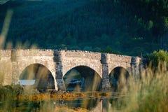 Place préférée de touristes en Ecosse - île de Skye Le château très célèbre en Ecosse a appelé le château d'Eilean Donan National photographie stock