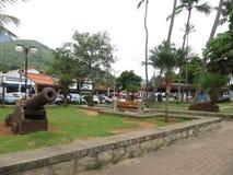 Place principale dans Ilhabela, Brésil Photo libre de droits