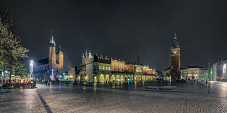 Place principale de Cracovie Image stock