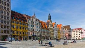 Place principale du 13ème siècle du marché, Photographie stock