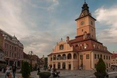 Place principale Roumanie de Brasov Photos stock