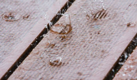 Place rain, raindrops Stock Photo