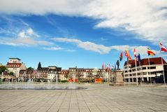 Place Rapp in Colmar Stock Photo