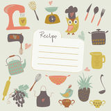 Place for recipe Royalty Free Stock Photo