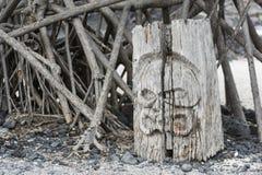 Place of Refuge on Big Island, Hawaii Royalty Free Stock Image