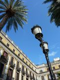 Place Reial in Barcelona, Spain Stock Photography