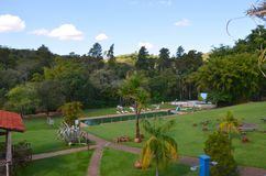 A place for relaxation local hacienda , next to the city Ribeirao Preto, Region Minas Gerais. Brazil stock photos