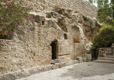 Place of the resurrection of jesus christ Stock Photography
