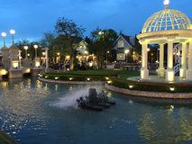 Place romantique Images stock