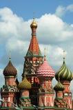 Place rouge 2007 de cathédrale de St Basil Image libre de droits