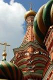 Place rouge 2007 de cathédrale de St Basil Photo stock