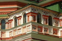 Place rouge 2007 de cathédrale de St Basil Image stock