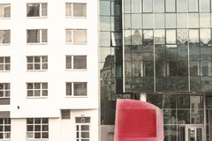 Place rouge de Vienne photos stock