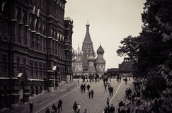Place rouge, Moscou Images stock