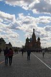 Place rouge, Moscou, ville fédérale russe, Fédération de Russie, Russie Photos libres de droits