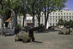 Place Royal. Défense de place Royal dans le vieux Québec stock photography