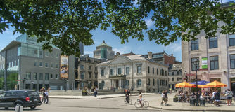 Place Royal Old Montreal Royalty Free Stock Photography