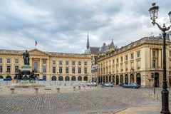 Place Royal in Reims Royalty Free Stock Image