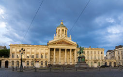 Place Royale - City of Brussels. Belgium Royalty Free Stock Photo