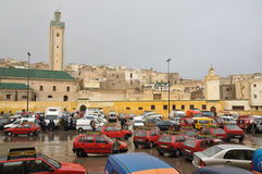 Place Rsif in Fes, Morocco Royalty Free Stock Photography