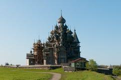 Place sacrée. Belle île de Kizhi Photographie stock libre de droits