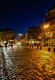 Place Saint Germain des Pres, Paris royalty free stock image