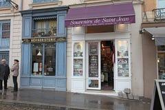 Place Saint Jean, Lyon Stock Photo