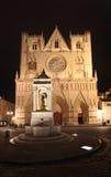 Place Saint Jean, Lyon Stock Images