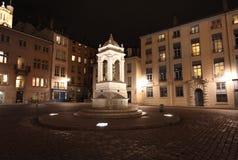 Place Saint Jean, Lyon Stock Image