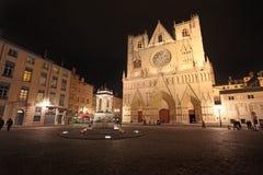 Place Saint Jean, Lyon Royalty Free Stock Photo