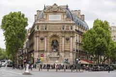 Place Saint-Miche Stock Photo
