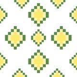 Place sans couture avec le fond de pixels Photographie stock