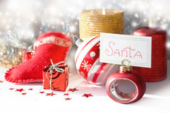 Place for Santa Royalty Free Stock Photos