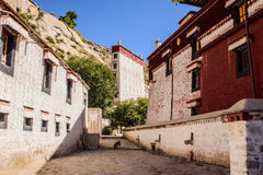 A place in the Sera Monastery. Lhasa, Tibet, China Stock Photos