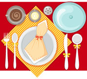 Place setting Stock Image