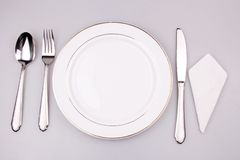 Place setting royalty free stock photo