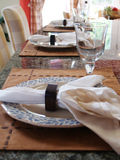 Place Setting Royalty Free Stock Photos
