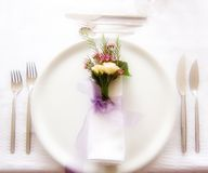 Free Place Setting Royalty Free Stock Photography - 5056927