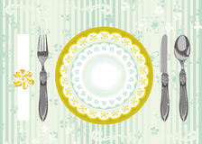 Place Setting Royalty Free Stock Image