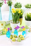 Place setting for Easter Royalty Free Stock Images