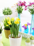 Easter table Stock Photography