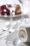 Place setting, macro Royalty Free Stock Photos