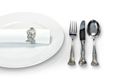 Place setting_2 Royalty Free Stock Image