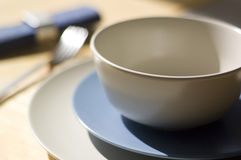 Place setting with shallow depth of field Stock Images