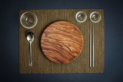 A Place Setting Royalty Free Stock Photography