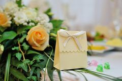 Place Settings For Bride And Groom Royalty Free Stock Photography