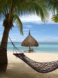 A place in the shade. Bohol, Philippines royalty free stock photo